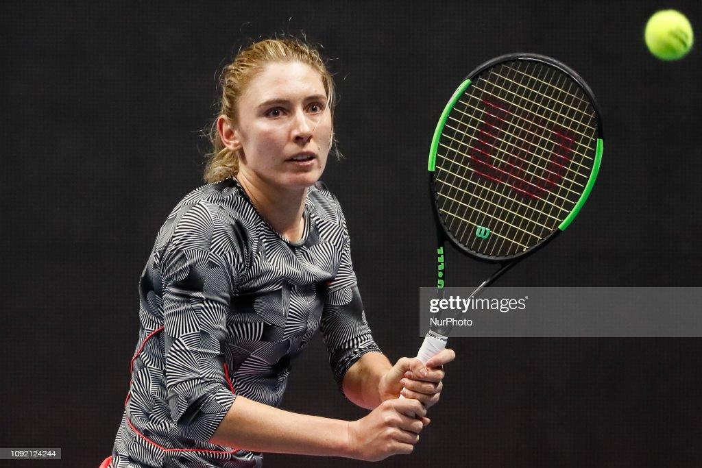 St. Petersburg Ladies Trophy 2019 Tennis Tournament : News Photo