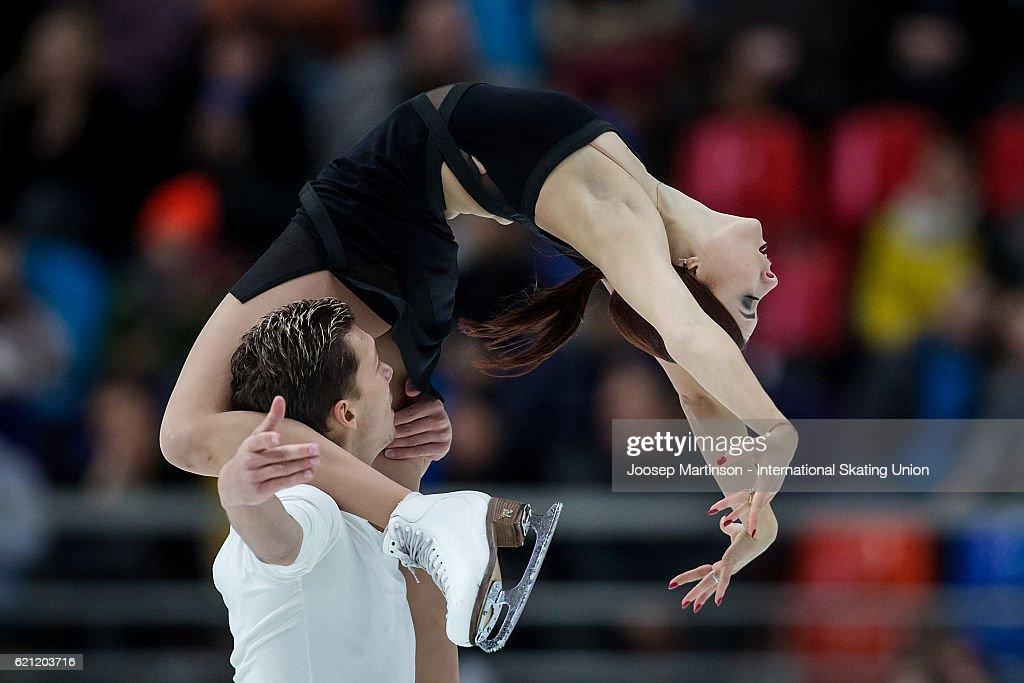 ISU Grand Prix of Figure Skating - Moscow Day 2
