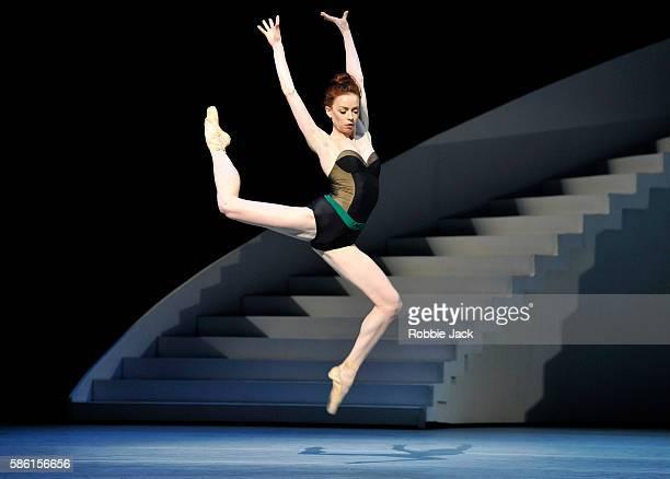 Ekaterina Krysanova as Katharina in The Bolshoi Ballet's production of Jean-Christophe Maillot's The Taming of the Shrew at The Royal Opera House on...
