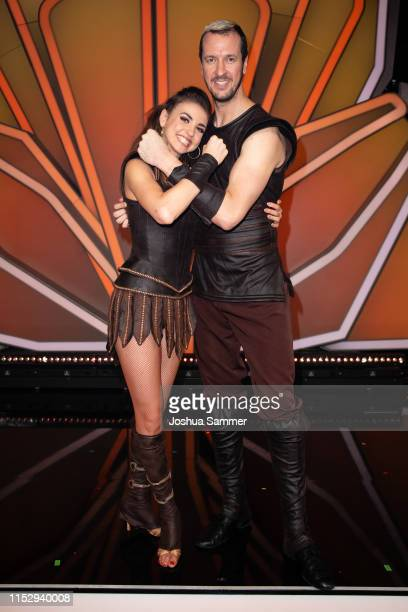 Ekaterina Leonova and Pascal Hens are seen during the 10th show of the 12th season of the television competition Let's Dance on May 31 2019 in...