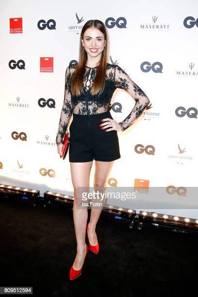 Ekaterina Leonova attends the GQ Mension Style Party 2017 at Austernbank on July 5 2017 in Berlin Germany