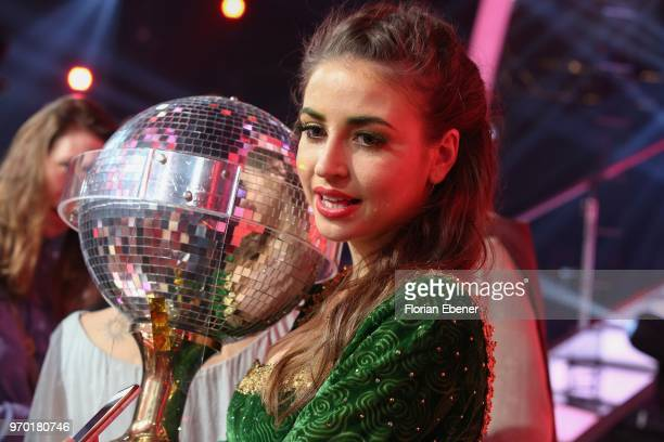 Ekaterina Leonova during the finals of the 11th season of the television competition 'Let's Dance' on June 8 2018 in Cologne Germany
