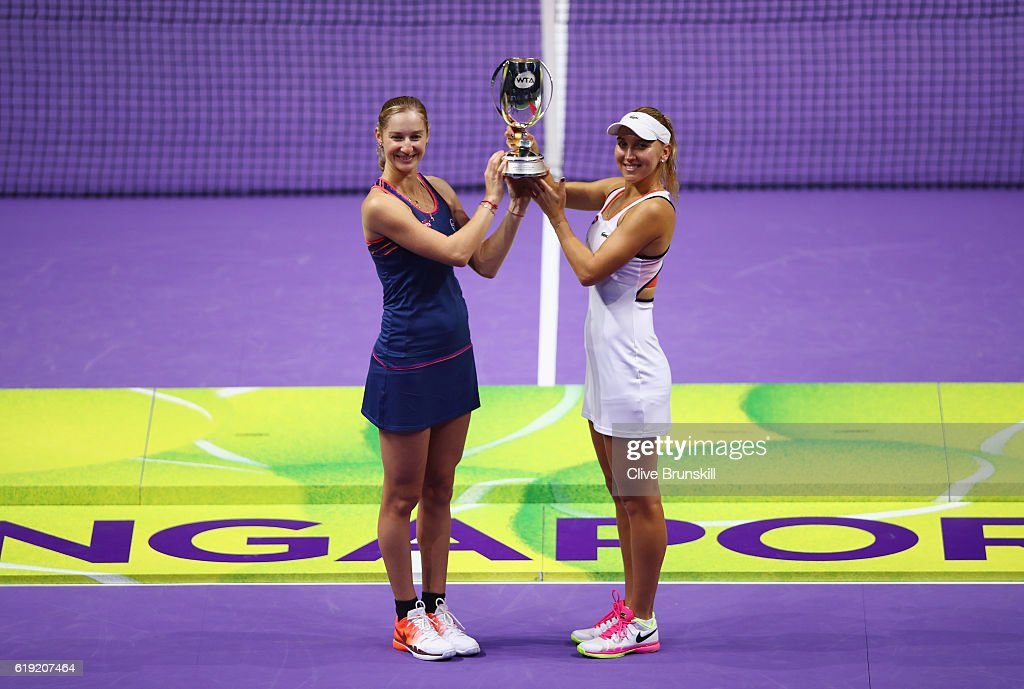 BNP Paribas WTA Finals: Singapore 2016 - Day Eight