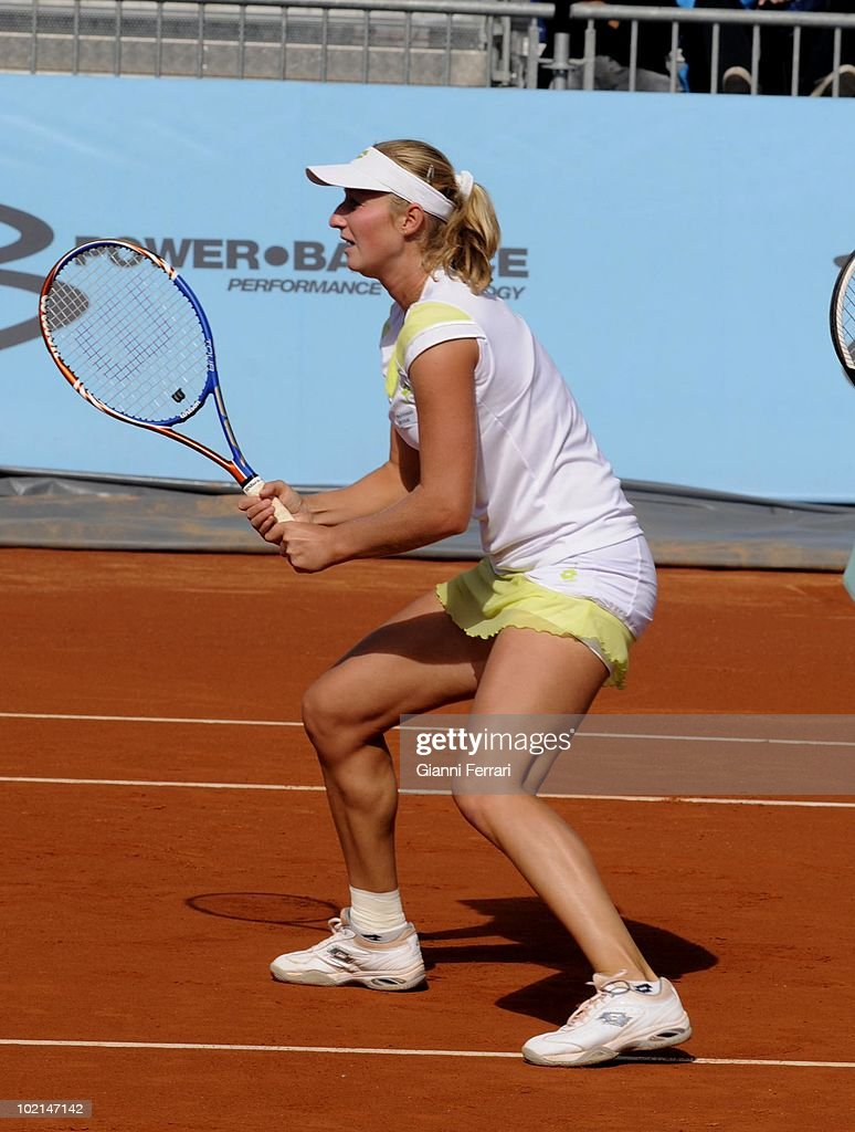 Ekaterina Makarova, RUS, tennis in 'Mutua Madrilena Madrid Open' , 8th May 2010, in 'La Caja Magica'. Madrid, Spain.