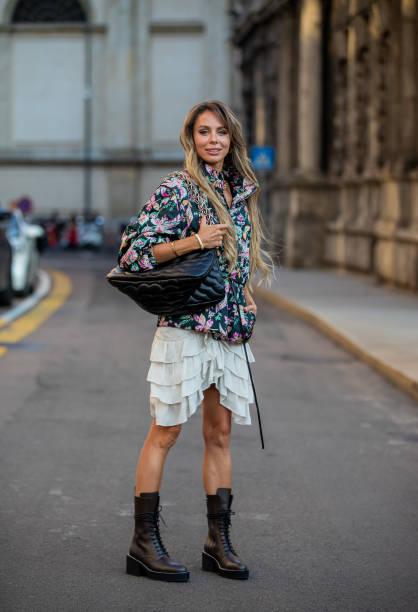 ITA: Street Style - Day 7 - Milan Fashion Week - Spring / Summer 2022