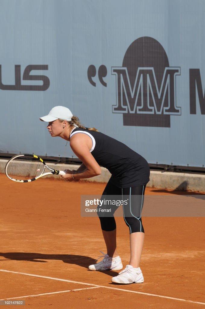 Ekaterina Marakowa, RUS, in the tennis 'Mutua Madrilena Madrid Open', 8th May 2010, 'La Caja Magica', Madrid, Spain.