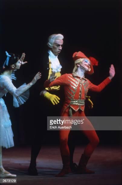 Ekaterina Maximova, Vladimir Levashov and Vladimir Vasiliev in the Bolshoi Ballet production of 'The Nutcracker'.