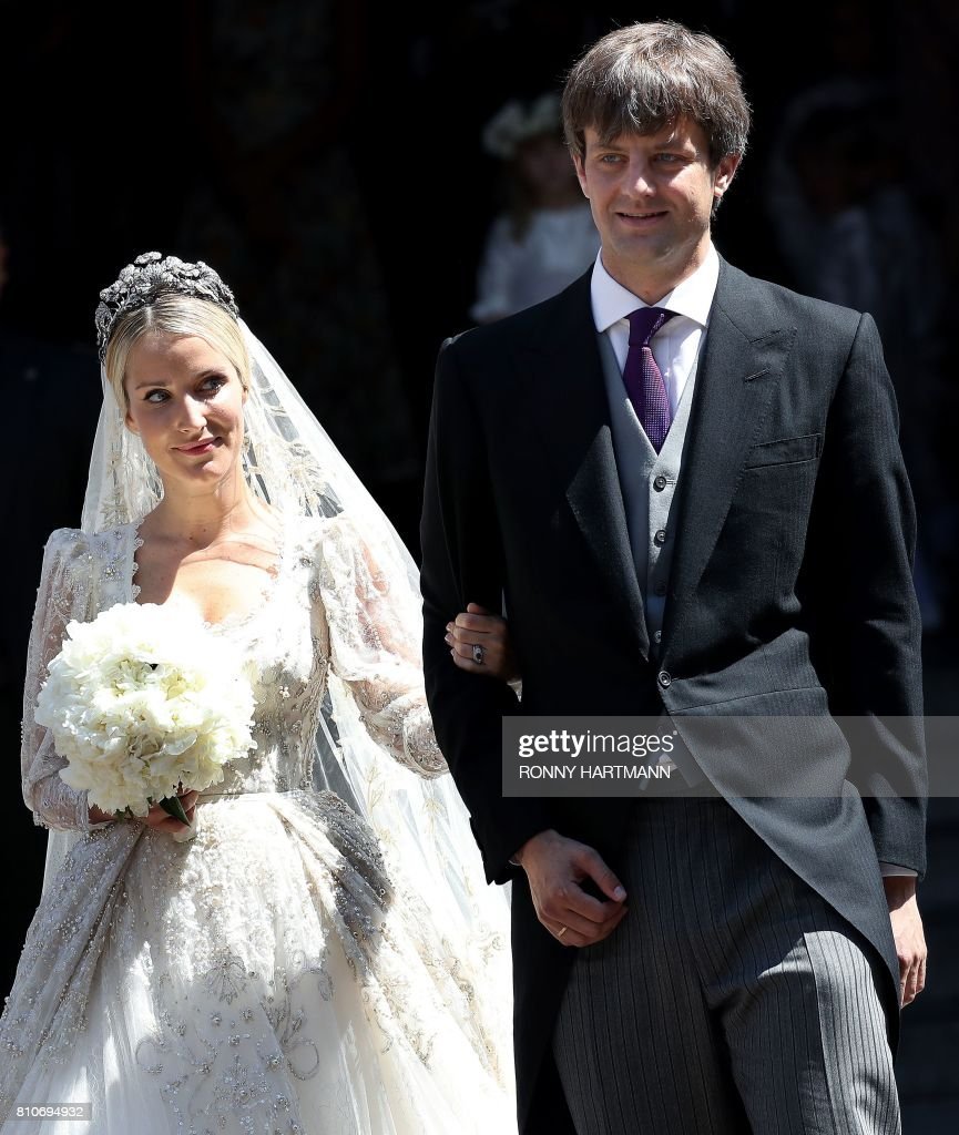 GERMANY-ROYALS-WEDDING : News Photo
