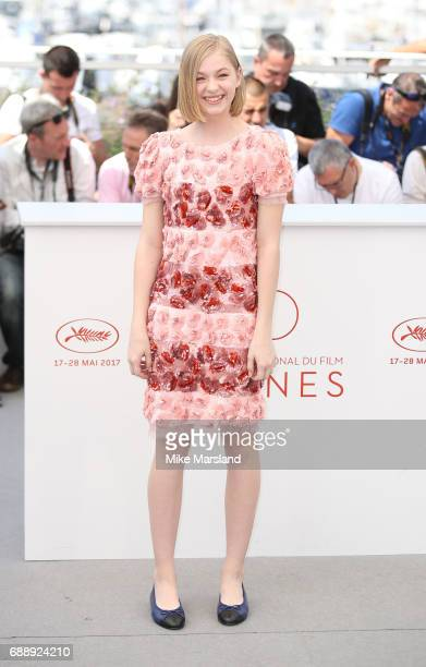 Ekaterina Samsonov attends the 'You Were Never Really Here' photocall during the 70th annual Cannes Film Festival at Palais des Festivals on May 27...
