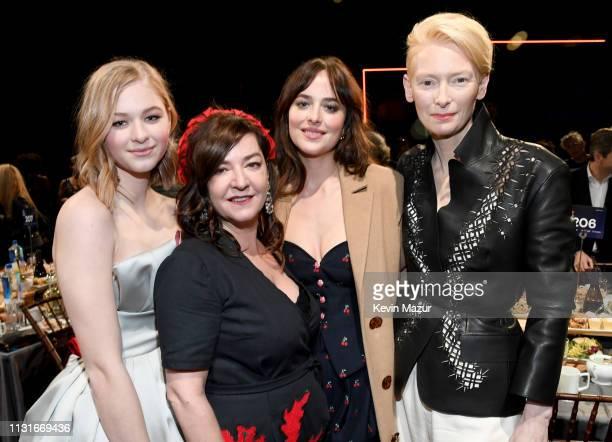 Ekaterina Samsonov Lynne Ramsay Dakota Johnson and Tilda Swinton during the 2019 Film Independent Spirit Awards on February 23 2019 in Santa Monica...