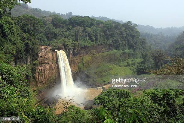Ekom Nkam waterfall