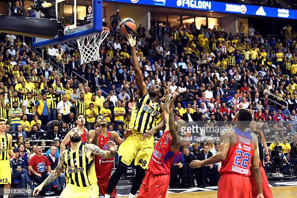 Ekpe Udoh #8 of Fenerbahce Istanbul during the Turkish Airlines Euroleague Basketball Final Four Berlin 2016 Championship game between Fenerbahce...