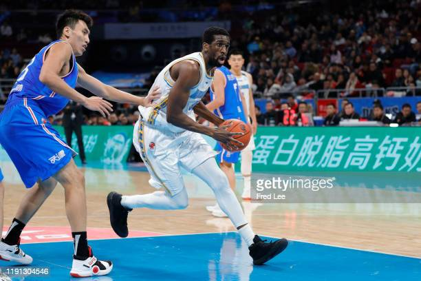 Ekpe Udoh of Beijing Ducks in action during 2019/2020 CBA League - Beijing Ducks v Tianjin Pioneers at Beijing Wukesong Sport Arena on January 2,...