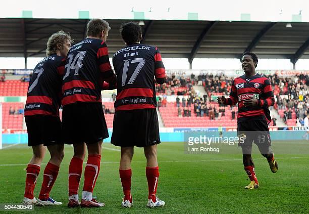 Ekstra Bladet Cup, semifinale - Christian Sivebæk , FCM FC Midtjylland. © Lars Rønbøg / Frontzonesport