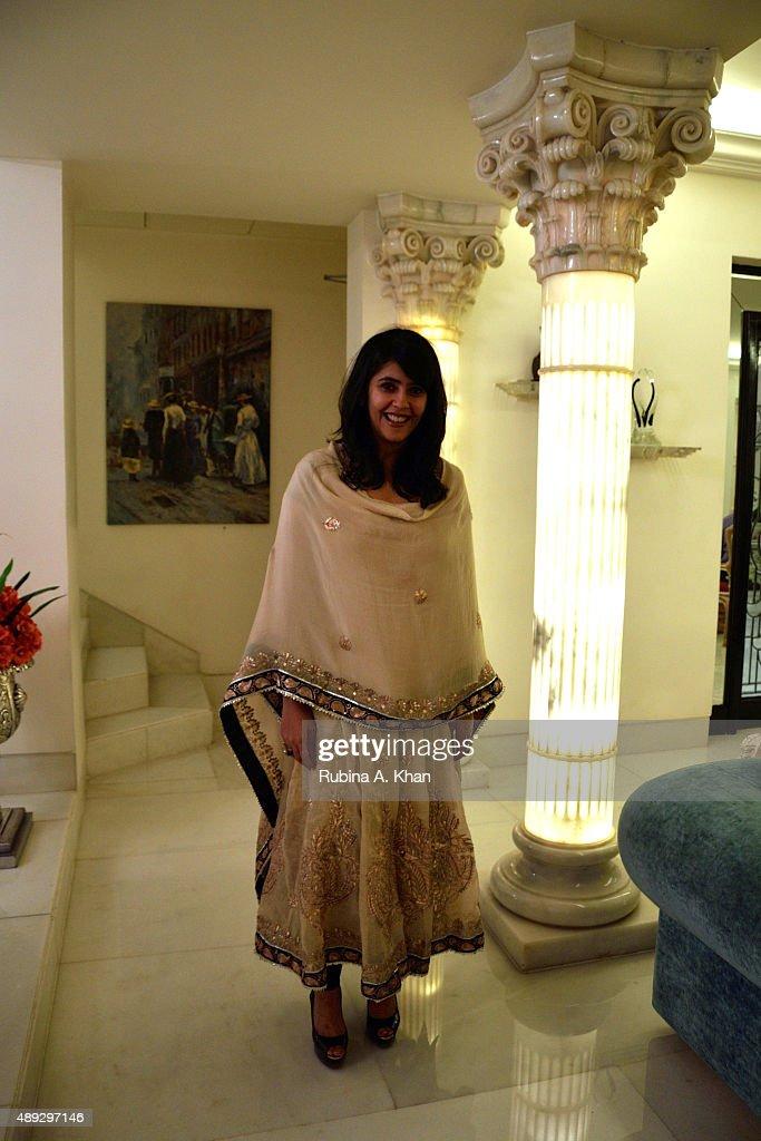 Jeetendra And Shobha Kapoor's Ganesha Chaturthi Lunch : News Photo