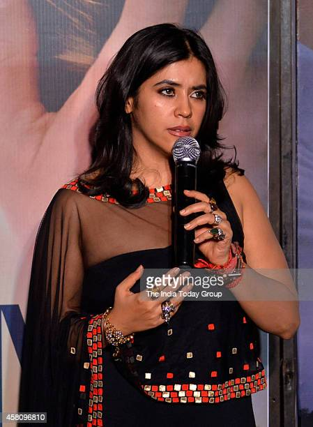 Ekta Kapoor at the premiere of Best of Me movie in Mumbai