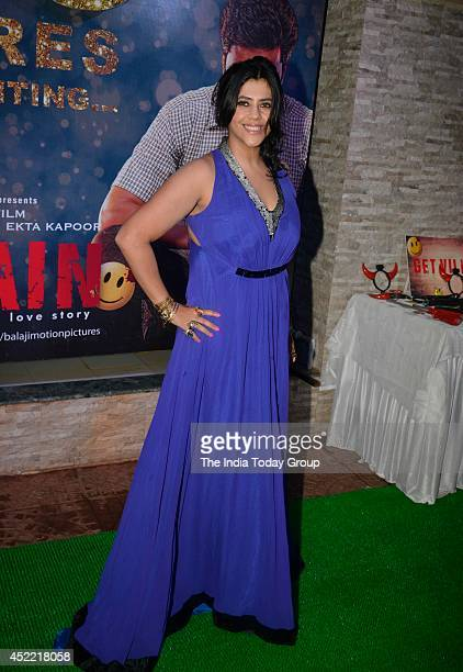 Ekta Kapoor at the success party of the movie Ek Villain in Mumbai