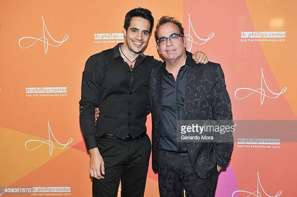 Ektor Rivera and Richard JayAlexander attend the opening night of Dr Phillips Center for the Performing Arts Broadway Beyond on November 15 2014 in...