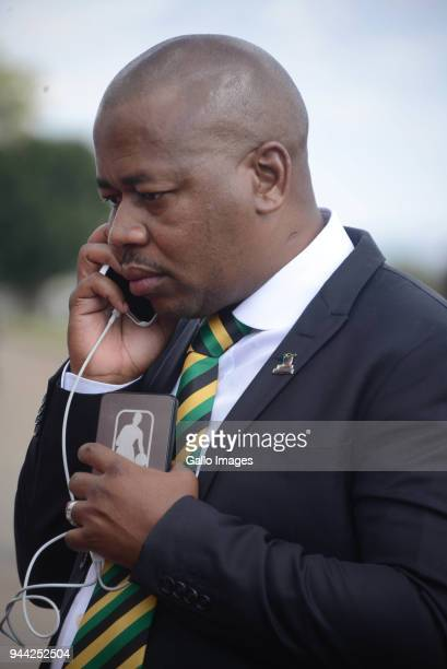 Ekurhuleni mayor Mzwandile Masina during the 25 year anniversary commemorating Chris Hanis death on April 10 2018 in Boksburg South Africa Hani was...
