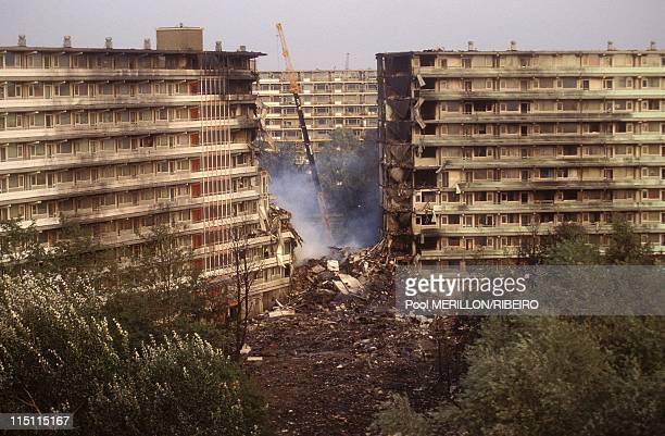 El Al' Boeing 747 crash in Amsterdam Netherlands on October 04 1992