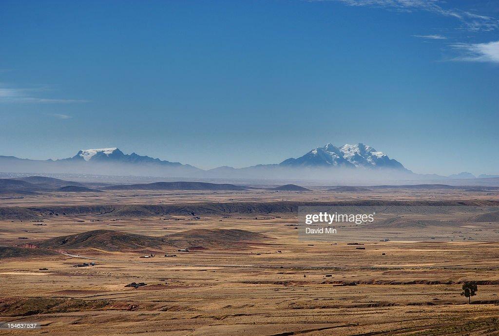 El Alto - Bolivian Altiplano : Stock Photo