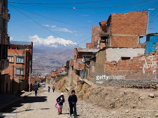 el alto en la paz, bolivia - el alto fotografías e imágenes de stock