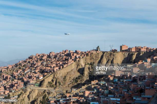 El Alto International Airport is an international airport located in the city of El Alto Bolivia 8 mi southwest of La Paz At an altitude of 40615 m...
