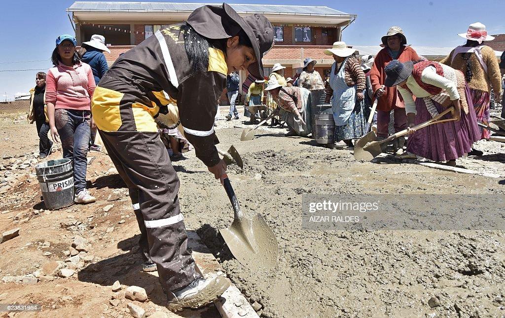 BOLIVIA-POLITICS-OPPOSITION-CHAPETON : News Photo