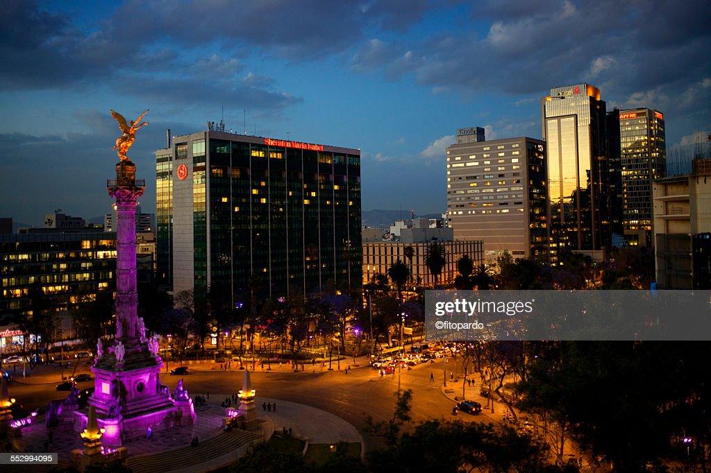 El Angel de Independencia, mexican landmark : Stock-Foto