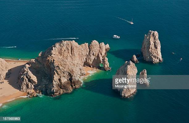 El Arco and Land's End from the Air