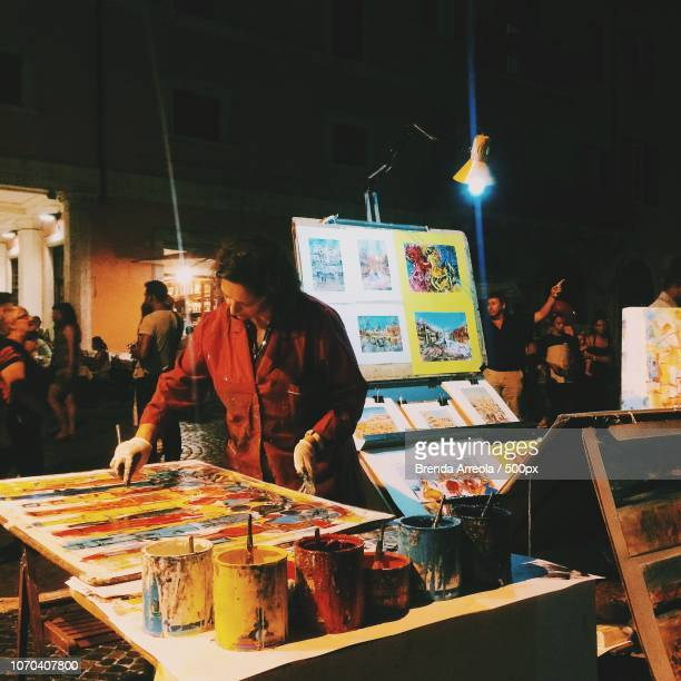 el arte en roma - arte stock photos and pictures