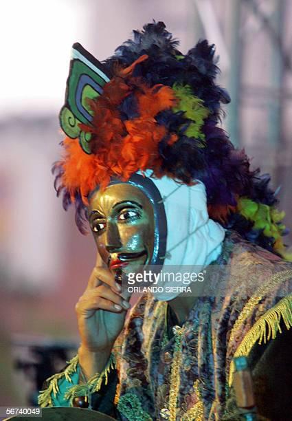 El ballet drama de origen prehispanico Rabinal Achi se presenta en la Plazuela Espana de Ciudad de Guatemala, el 03 de febrero de 2006. Los relatos...