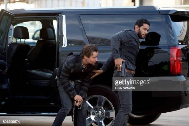 SOUTH El Beso de Judas Episode 204 Pictured Jon Ecker as Guero Nick Sagar as Agent Loya