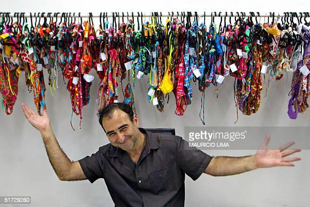 El bikini de las brasilenas en boga en las principales playas del mundo Amir Slama empresario brasileno del setor textil y disenador de la reconocida...