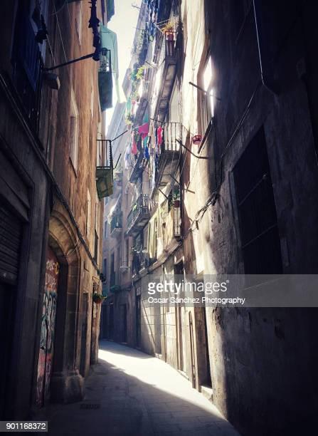 El Born streets, Barcelona