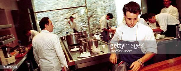 'El Bulli' Restaurant Chef Ferran Adria Cala Montjoi Roses Girona