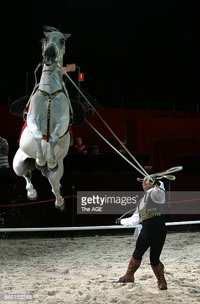El Caballo Blanco, Horses for Courses media call 30 January, 2007. THE AGE GALLERY Picture by ANDREW DE LA RUE.