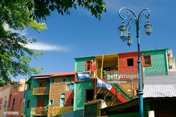 el caminito en la boca, buenos aires, argentina - argentina fotografías e imágenes de stock
