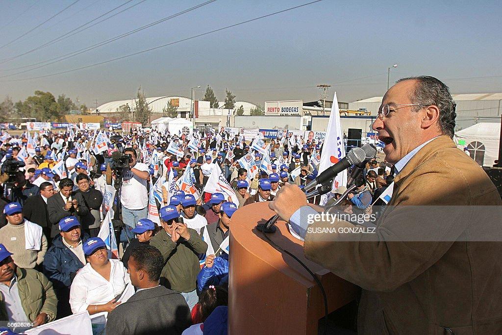 El candidato presidencial del partido de : News Photo