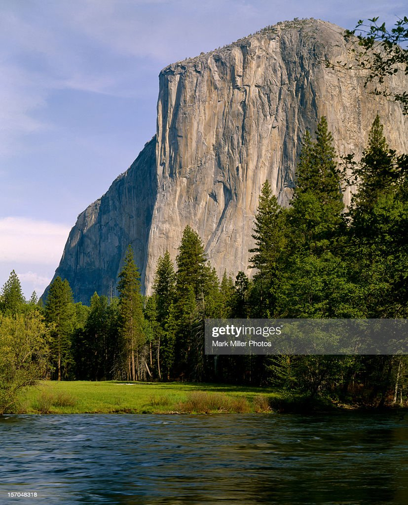 el capitan and merced river yosemite np stock photo | getty images