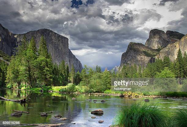 El Capitan and Three Brothers, Yosemite Valley