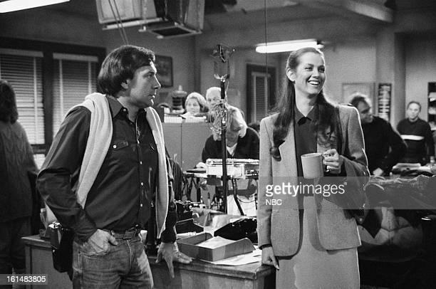 BLUES El Capitan Episode 18 Pictured Veronica Hamel on set as Joyce Davenport