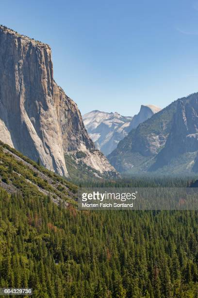 El Capitan Half Dome and Bridal veil Fall