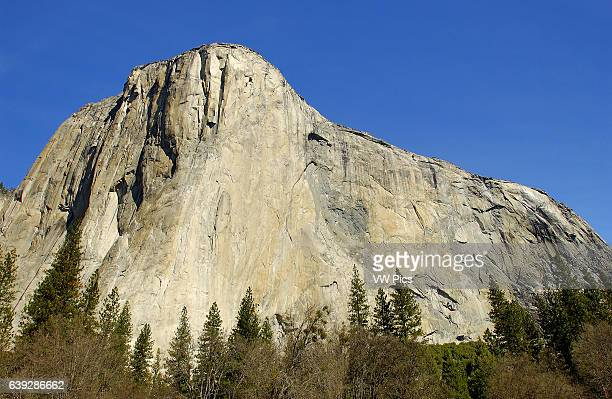 El Capitan in March Totock'anula Rock Spirit Yosemite Valley Yosemite National Park