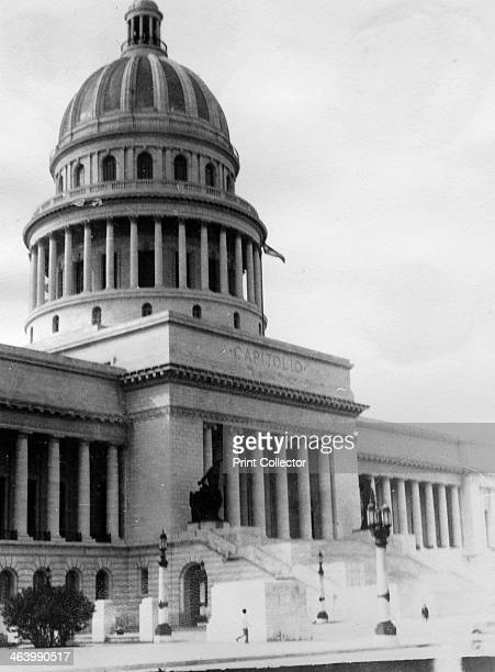 El Capitolio Havana Cuba 1931 El Capitolio the National Capitol Building in Old Havana built in the 1920s as the seat of government later became the...