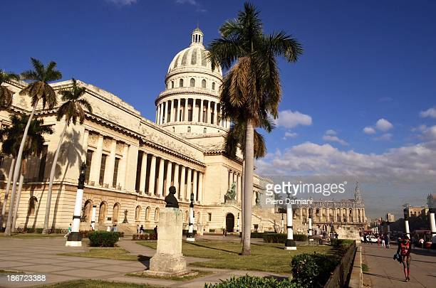 El Capitolio, or National Capitol Building in Havana, Cuba, was the seat of government in Cuba until after the Cuban Revolution in 1959, and is now...
