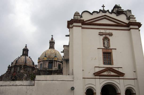 El Carmen Church (Templo del Carmen de San Ángel) and Museum of El Carmen (Museo de El Carmen), San Ángel, Mexico City, Mexico