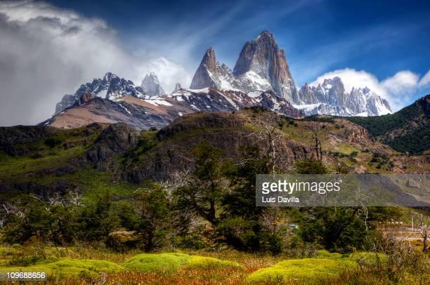 El Chalten in Glacier National Park in Patagonia Argentina December 2010