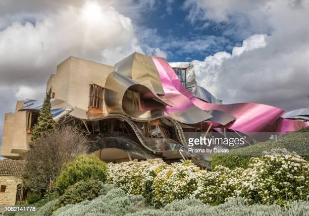 El Ciego City, Frank Gehry architect, La Rioja Area, Logro–o province, Marques de Riscal Hotel, spain, wine cellar