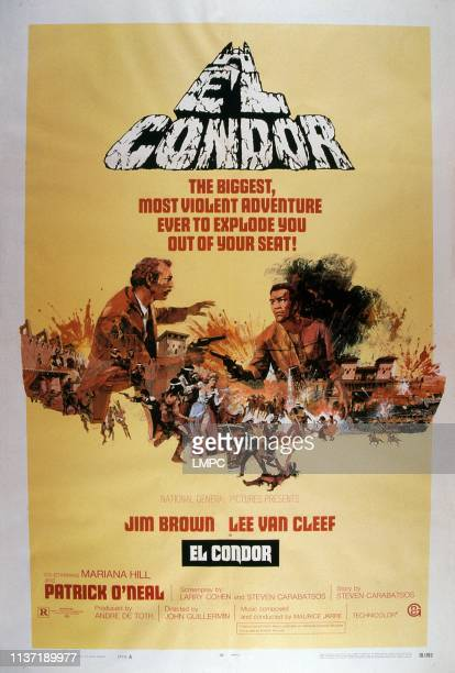 El Condor, poster, from left: Lee Van Cleef, Jim Brown, 1970.